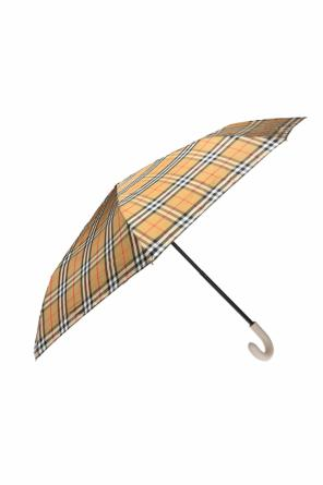 Checked umbrella od Burberry