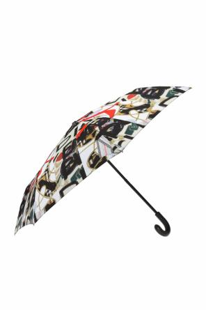 Umbrella with military motif od Burberry