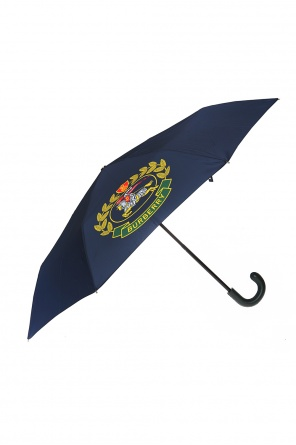 Umbrella with a printed pattern od Burberry