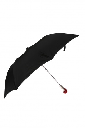 Umbrella with a skull motif od Alexander McQueen