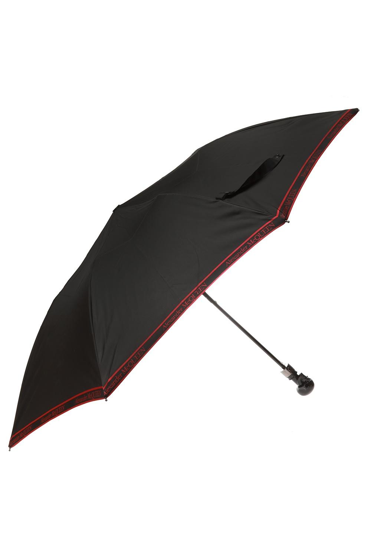 Alexander McQueen Logo umbrella