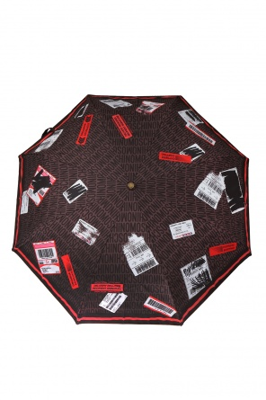 Logo-patterned umbrella od Moschino