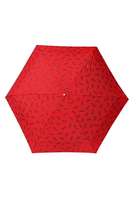 Moschino Folded umbrella with a print