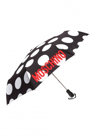 Logo-printed umbrella od Moschino
