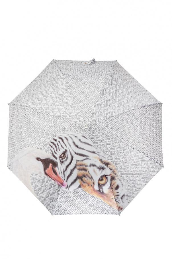 Folding umbrella with logo od Burberry