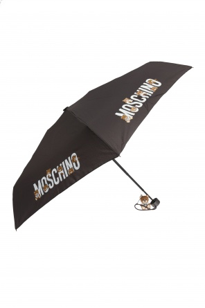 Folding umbrella with charm od Moschino