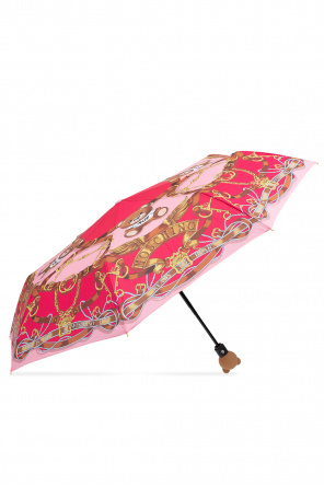 Folding umbrella with logo od Moschino