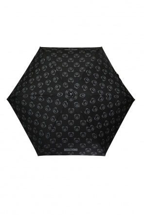 Branded folding umbrella od Moschino