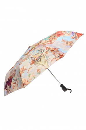 Patterned folding umbrella od Moschino