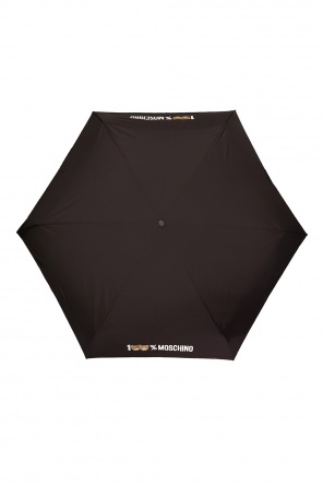 Teddy bear motif umbrella od Moschino