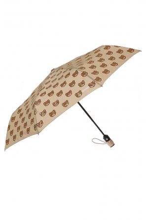 Printed folding umbrella od Moschino