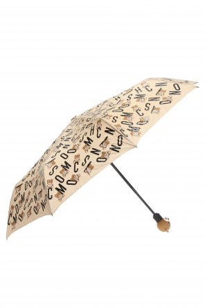 Embellished folding umbrella od Moschino