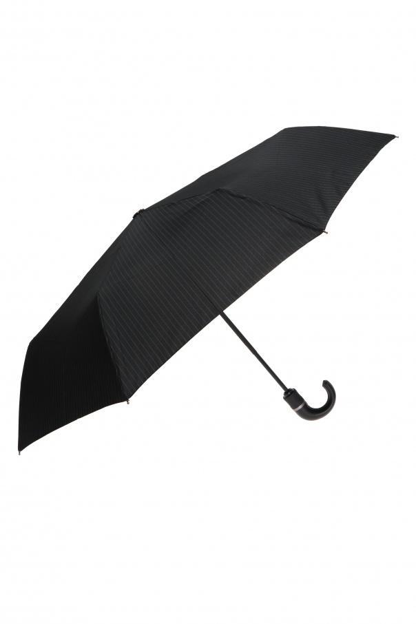 Moschino 细条纹折叠太阳伞