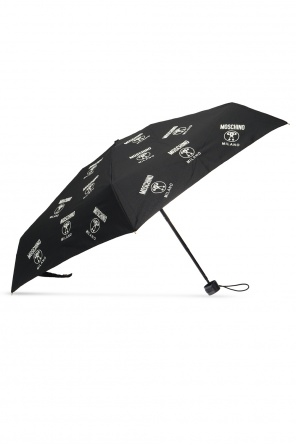 Folding umbrella with logo od Moschino