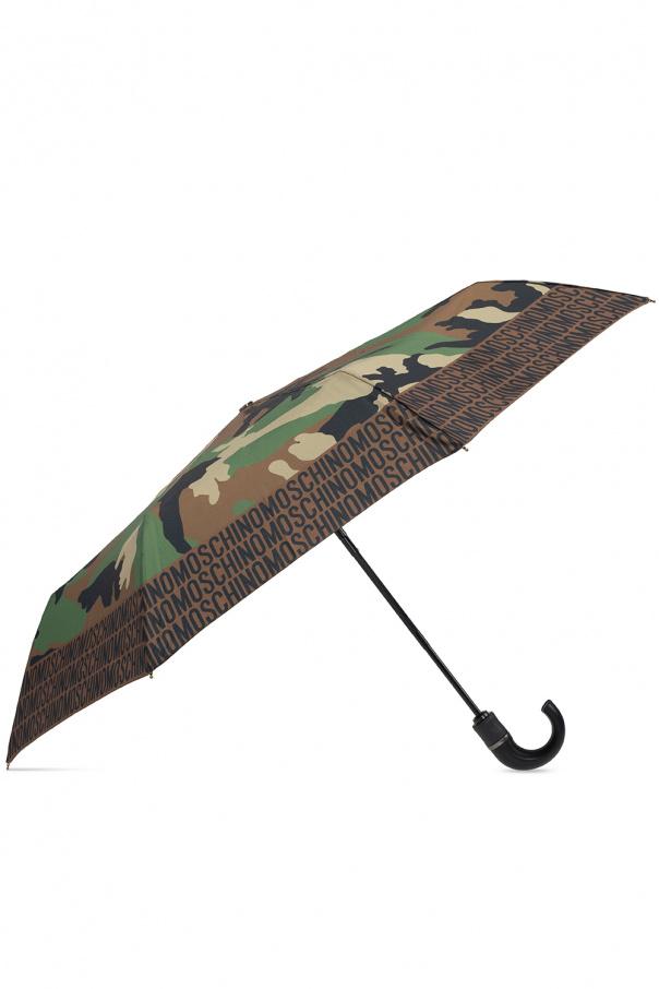 Moschino Folding umbrella with logo