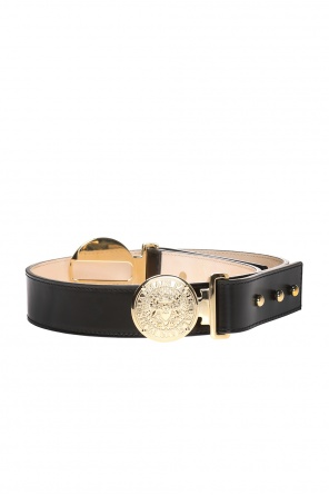 Belt with a decorative buckle od Balmain