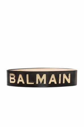 Waist belt with metal logo od Balmain