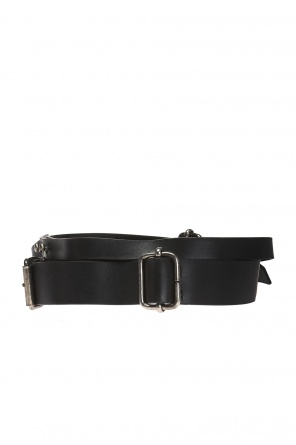 Double leather belt od Ann Demeulemeester