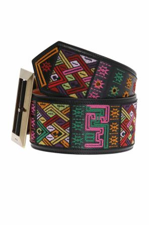 Embroidered waist belt od Etro