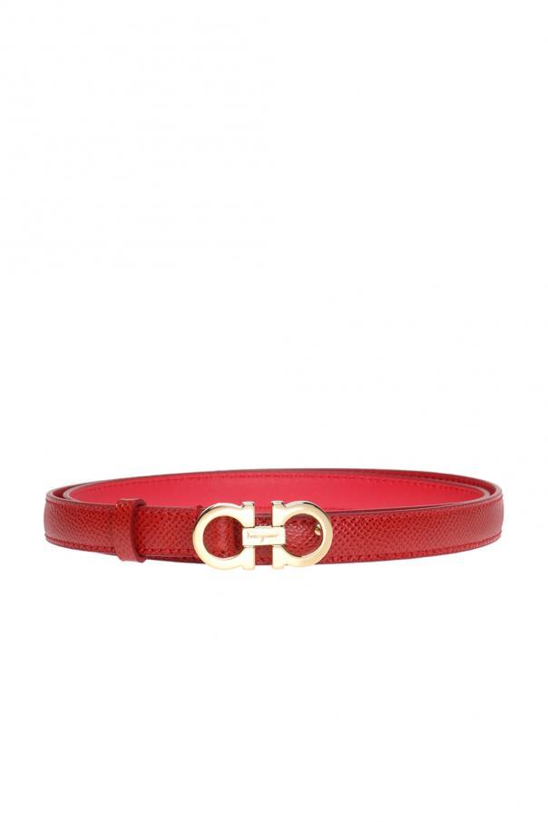 Salvatore Ferragamo Logo-buckled belt