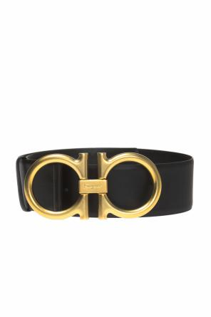 Branded buckle belt od Salvatore Ferragamo