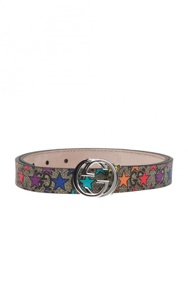 82a289798e1 GG Supreme  canvas belt Gucci Kids - Vitkac shop online