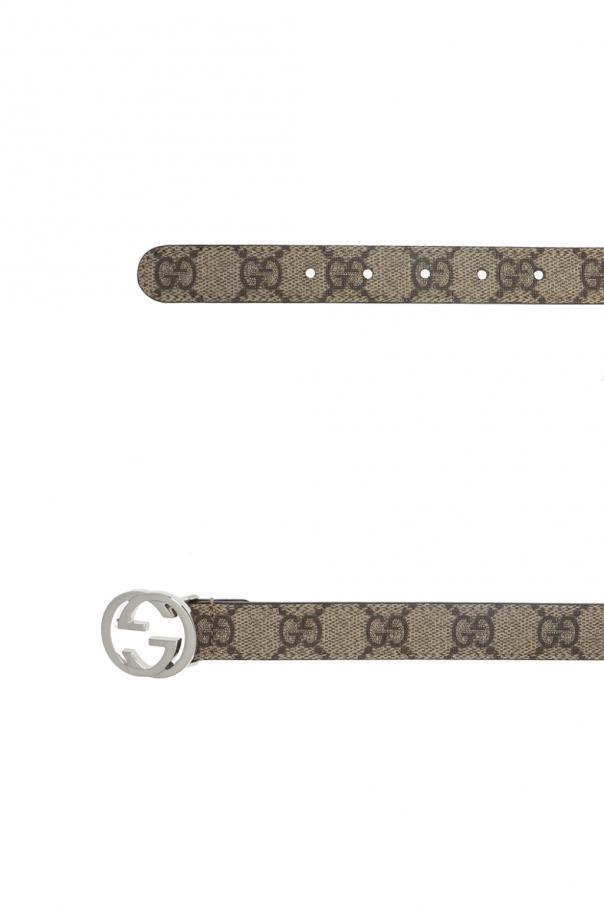 84080b70a30 GG Supreme  canvas belt Gucci Kids - Vitkac shop online