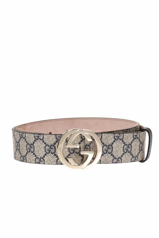 e50801ebddf GG Supreme  canvas belt Gucci - Vitkac shop online