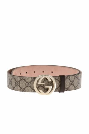 'gg supreme' canvas belt od Gucci