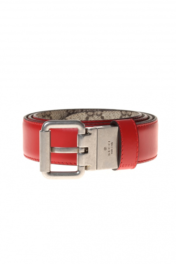 94fe78257 Reversible 'GG Supreme' Leather Belt. Gucci - Vitkac shop online