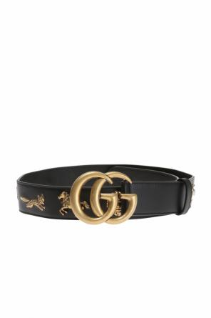 Appliqued belt od Gucci