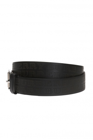 Belt with a logo od Burberry