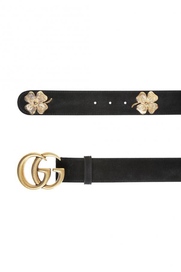 d194207a356 Suede belt Gucci - Vitkac shop online
