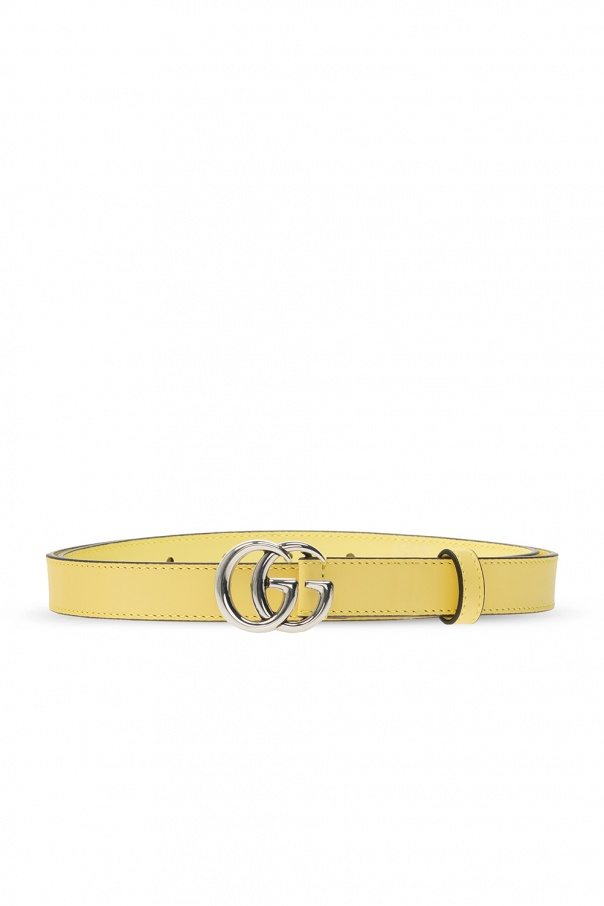 Gucci Leather belt with logo