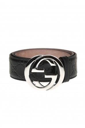 'guccissima' leather belt od Gucci