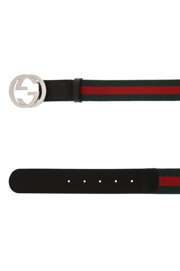 'web' belt od Gucci
