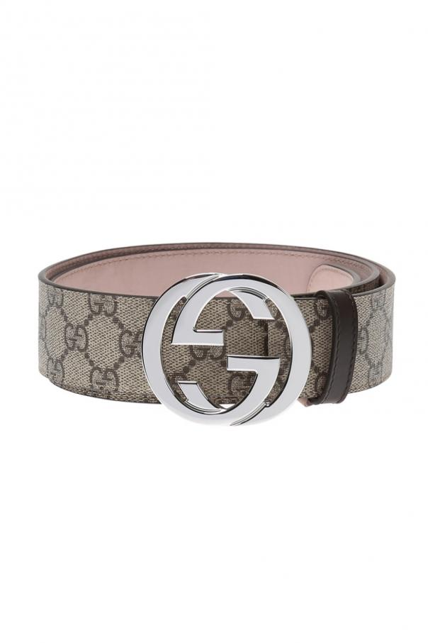 Gucci 'GG Supreme' canvas belt