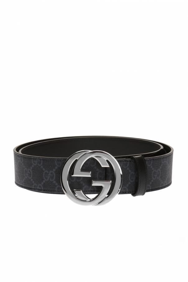 e50801ebddf GG Supreme  canvas belt Gucci - Vitkac shop online