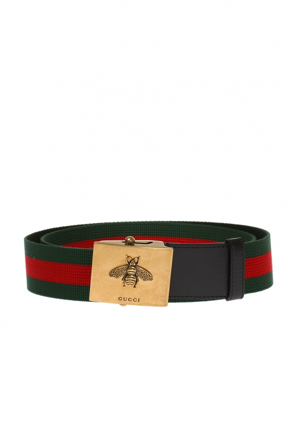 43b1e61b001 Web  motif belt Gucci - Vitkac shop online
