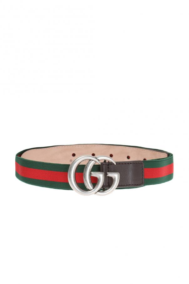 Gucci Kids Logo-buckle belt