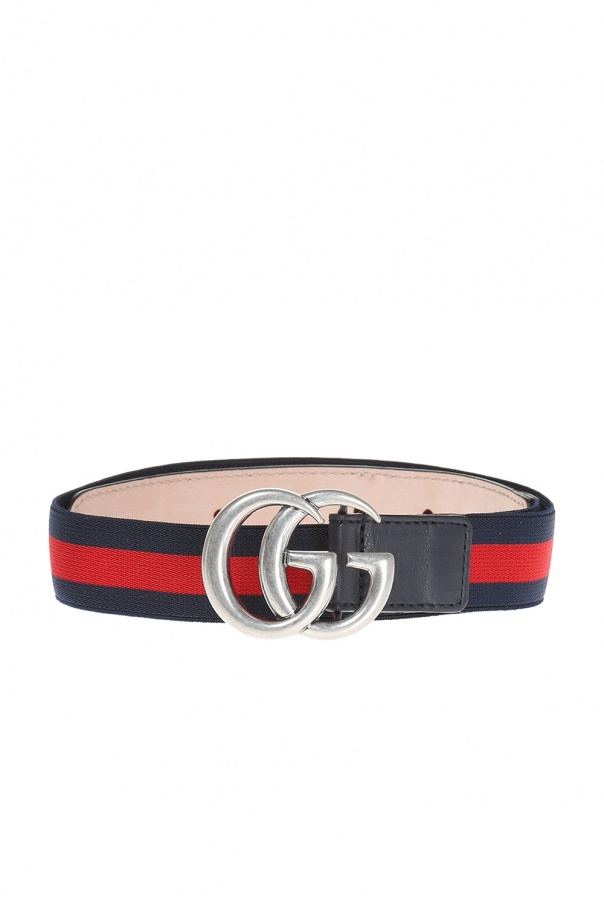 Gucci Kids Logo buckle belt