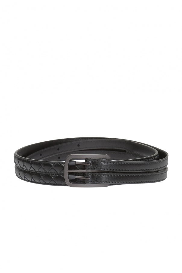 Leather Belt Bottega Veneta Vitkac Shop Online