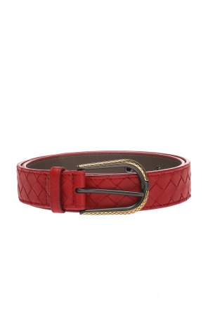 Belt with an 'intercciato' braid od Bottega Veneta