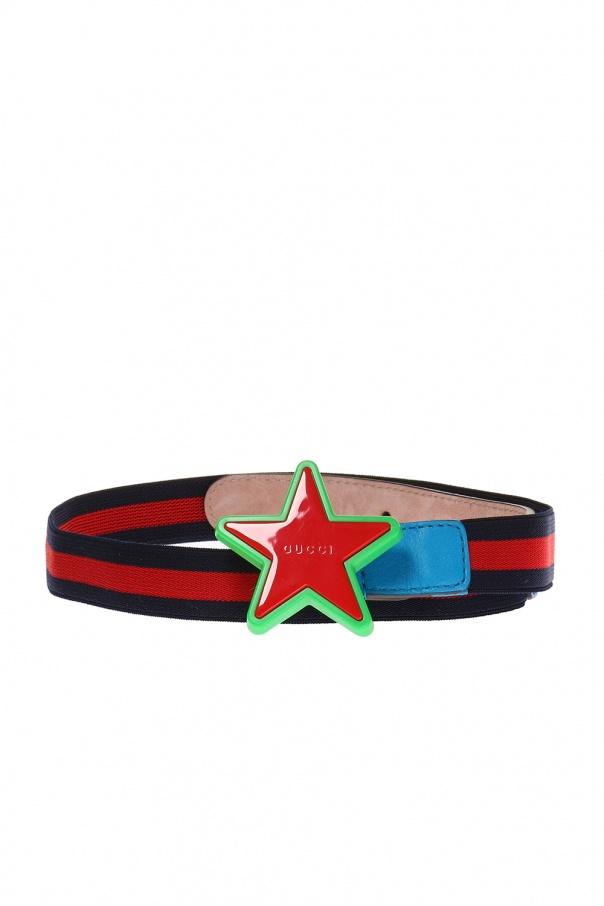3ce63db0f6f Star buckle belt Gucci Kids - Vitkac shop online