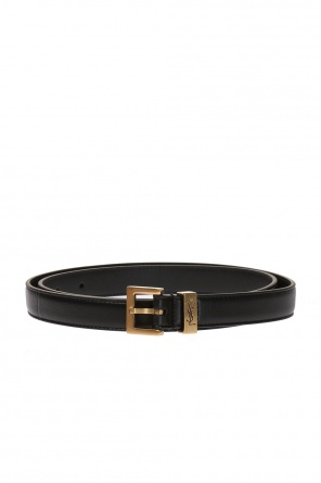 Leather belt od Saint Laurent Paris