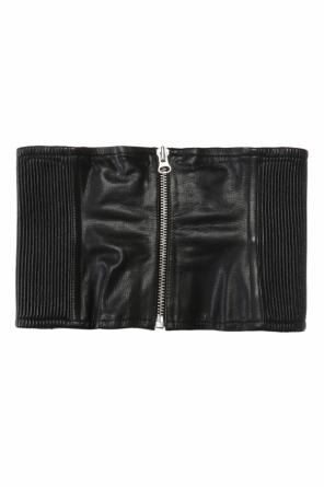 Leather waist belt od McQ Alexander McQueen