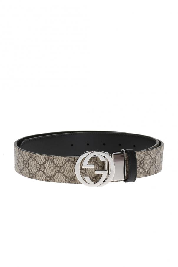 Gucci Logo-buckled belt