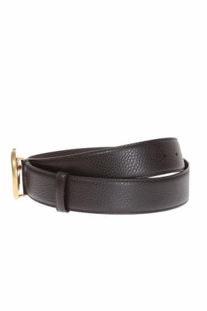 Logo buckle belt od Gucci
