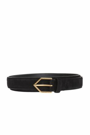Suede belt od Saint Laurent