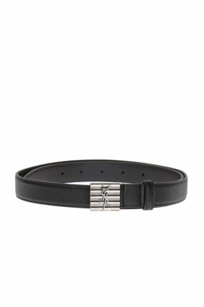 Logo-buckle belt od Saint Laurent